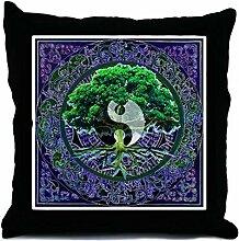 CafePress - Tree Of Life Balance - Throw Pillow