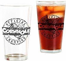 CafePress Tshirt Designs 0381 Pint Glas