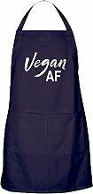 CafePress - Vegan AF - Küchenschürze mit