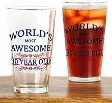 CafePress - World's Most Awesome 30 Year Old