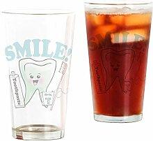 CafePress Zahnpflege-Glas für Zahnarzt