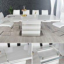 CAGÜ Design ESSTISCH [Kyoto] Weiss Hochglanz &