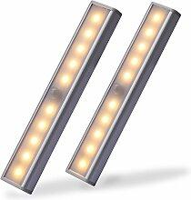 CAHAYA LED Schrankbeleuchtung 2 X 10 LED