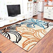 CAICOLORFUL Moderne europäische Wohnzimmer-Sofa Amerikanische Schlafzimmer Couchtisch Mat Teppich (Farbe, Größe Optional) Innen Teppich ( Farbe : F )