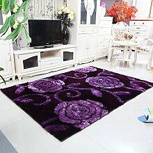 CAICOLORFUL Moderne europäische Wohnzimmer-Sofa Amerikanische Schlafzimmer Couchtisch Mat Teppich (Farbe, Größe Optional) Innen Teppich ( Farbe : K )
