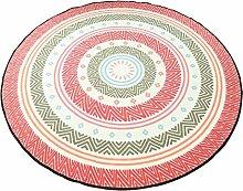 CAICOLORFUL MUMA Modern Einfach Runder Teppich
