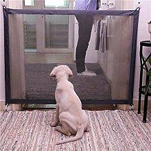 CAIGOGOO Pet Gate Portable Folding Safe Guard