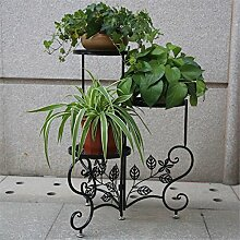 CAIJUN Blumenständer Floor Style Blumenständer Iron Flower Rack / Blumentopf Rack Multilayer Blumen Regal / Pflanze Rack / Topf Regal ( Farbe : C )