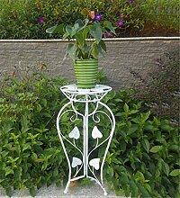 CAIJUN Blumenständer Iron Flower Rack / Blumentopf Rack / Blumenkorb / Balkon Boden Typ Einschichtige Pflanze Rack ( Farbe : B )