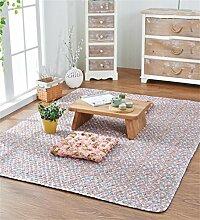 CAIJUN Teppiche Baumwolle Haushalt Matte Bedside Schlafzimmer Pad Teppich Bereich Teppiche (Farbe : C, größe : 150*180cm)