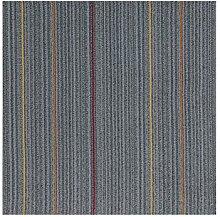 CAIJUN Teppiche Farbe Moderner Teppich-Teppich, Konferenzraum-Spleißen-Teppich, Büro-spezifische Teppich-PVC-Unterseite, quadratischer Teppich Bereich Teppiche ( Farbe : D , größe : 50*50cm/2 )