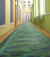 CAIJUN Teppiche Flur Teppich, Gartenteppich, Die ganze Treppe Teppich, Treppenteppich Flur Teppich Das ganze Volumen 1-10 M Bereich Teppiche (Farbe : B, größe : 1.0*10m)