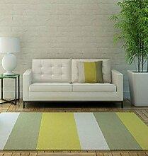 CAIJUN Teppiche Handgefertigte Plaid Acryl Teppich, Wohnzimmer Couchtisch Schlafzimmer Hochzeitsraum Teppiche, Matten Bereich Teppiche (größe : 1.4*2.0m)
