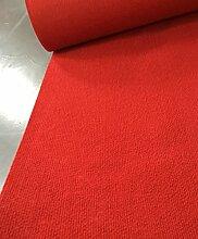 CAIJUN Teppiche Hochzeit Gestreift Roter Teppich, Wegwerft 2.5mm Dicke, Teppich, Hochzeit, Bühnenschau, Eröffnungszeremonie, Roter Teppich, Ausstellung, Teppich Bereich Teppiche (größe : 1.0*10m)