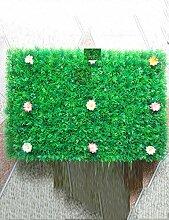 CAIJUN Teppiche Künstlicher Rasen, Plastikrasen, gefälschter Gras-Rasen-Teppich, Rasen-Weihnachtshochzeits-Fenster, zwei geladen Bereich Teppiche (größe : A-40*60cm/2)