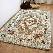 CAIJUN Teppiche Rug Pad Einfache moderne dicke Teppich Tür Matte Matte, 1,3 * 1,9m Bereich Teppiche (Farbe : D, größe : 130cm*190cm)