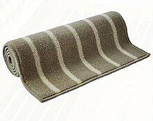 CAIJUN Teppiche Streifen Mats Küche Streifen Fußabtreter Badezimmer Schlafzimmer Badezimmer-Matte Bettseite Wasser Kufe Teppich Bereich Teppiche (Farbe : B, größe : 65*180cm)