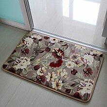 CAIJUN Teppiche Teppich-Matten, rutschfeste Fußmatten, Wohnzimmer Schlafzimmer Küche Rectangular Teppich, Treppen Teppich, (40-80cm * 60-160cm) Bereich Teppiche (größe : 40*60cm)