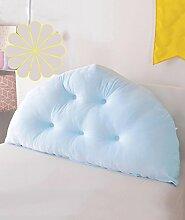 CAIJUN weich Samt Bedside-Stützkissen verschmust Bed Head Pillow Leseständer abnehmbares Knöpfe- Baby-Bett / Twin Size / Full Size / Queen-Size / king Size Stereo-Kissen ( Farbe : 4* , größe : 100*10*70CM )