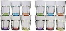Caipirinha Caipi Cocktail Gläser 320 ml mit