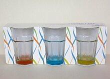 Caipirinha Caipi Gläser bunt 6 Stück bis zu 3