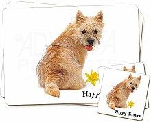 Cairn Terrier 'Happy Easter' Twin 2