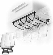 CairnCradle Whiskey-Glasregal – Unterschrank