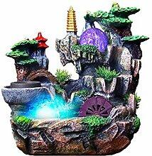 Caixia,Jade feng Shui Rockery-Wasser-Brunnen
