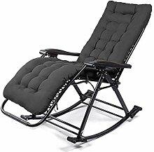 Cajolg Relax Liegestuhl Klappbar und Verstellbar