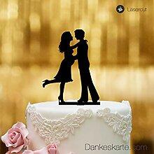 Cake Topper Babybauch - für die Hochzeitstorte -