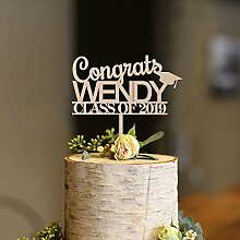 Cake Topper Graduation Cake Topper For Congrats