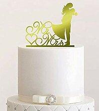 Cake Topper, Kuss, Tortenstecker, Tortefigur