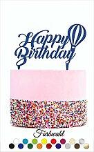 Cake Topper, Tortenstecker, - Happy Birthday -