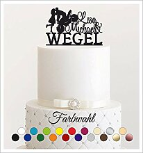 Cake Topper, Tortenstecker, Individuell -