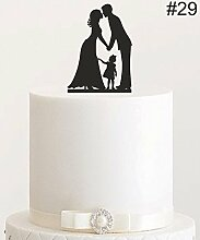 Cake Topper, Tortenstecker, Tortenfigur Acryl,
