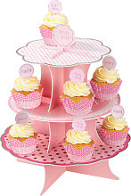 Cakestand Cupcake Stand Etagere rosa n Mix