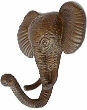 CALATHEA HOME Elefantenförmiger Kleiderbügel,