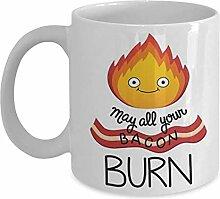 Calcifer - Coffee Mug Cup Zitat Geschenkidee für