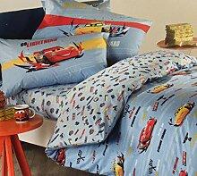 Caleffi Bettwäscheset Cars Sprint für Einzelbett