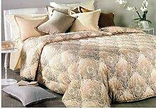 Caleffi Fußwärmer für Doppelbett, Beige, 260 x