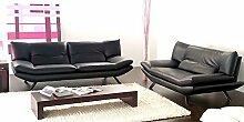 Calia Maddalena–Alaska Sofa, Buffalo Leather Red Ferrari, Armchair - 108cm
