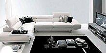 Calia Maddalena–Concorde Sofa, High Quality Leather Beige Light, Concorde - 340x220cm