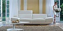 Calia Maddalena–Escort Sofa, Crocodile Leather Olive, Armchair - 135cm