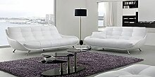 Calia Maddalena–Master Sofa, Crocodile Leather Black, Armchair - 100x92x100cm