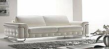 Calia Maddalena–Stargate Sofa, Buffalo Leather Brown Dark, Armchair - 120x84x90cm