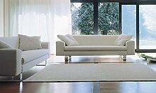 Calia Maddalena–Wohnzimmer Design City 2 Sitze Pelle Rosa Chiaro