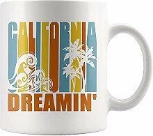 California Dreamin 'Kaffee-Haferl für die,