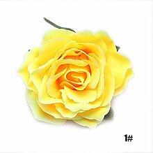 calistous Beauty und Antik Braut Rose Blume Haar