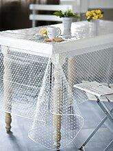 Calitex agnos Tischdecke PVC Transparent Nappe