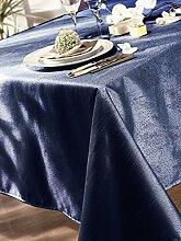Calitex Anthea 3372360510541Tischdecke rechteckig Polyester Marineblau
